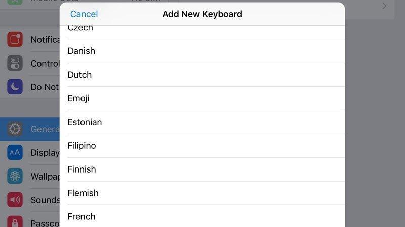 activar-emojis-en-ipad