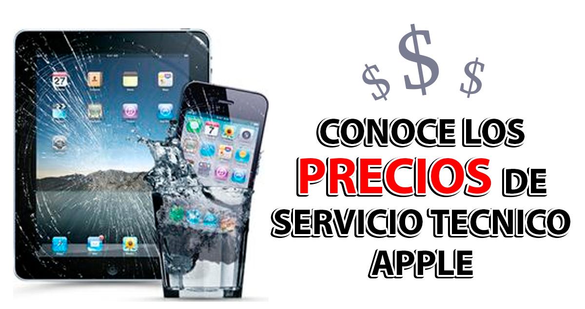 Conoce el Precio Servicio Técnico Apple