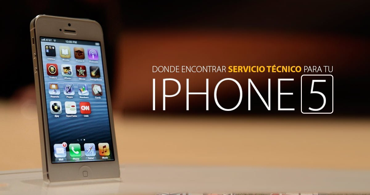 servicio técnico iphone 5