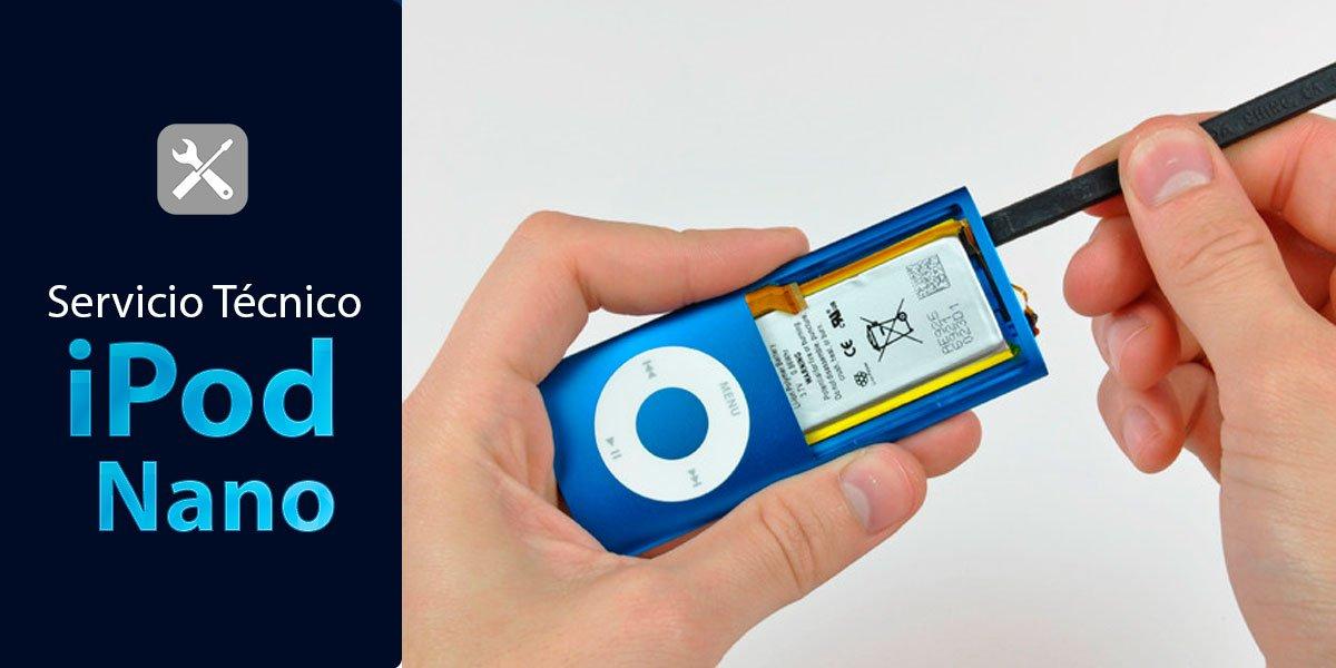 servicio tecnico ipod nano