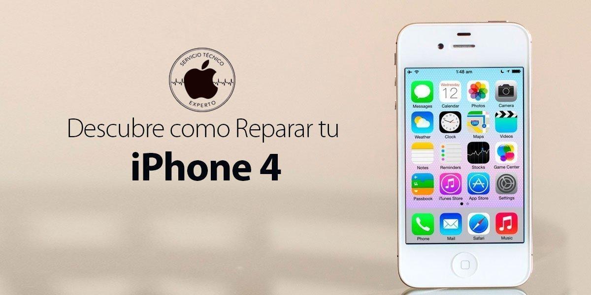 reparar iPhone 4 Apple