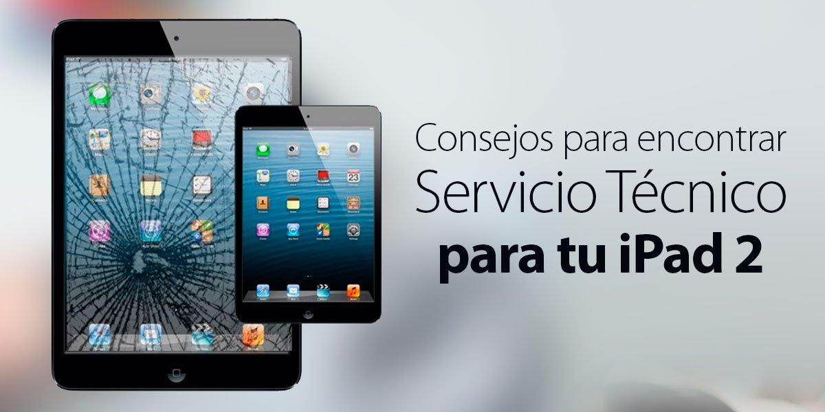 servicio técnico ipad 2